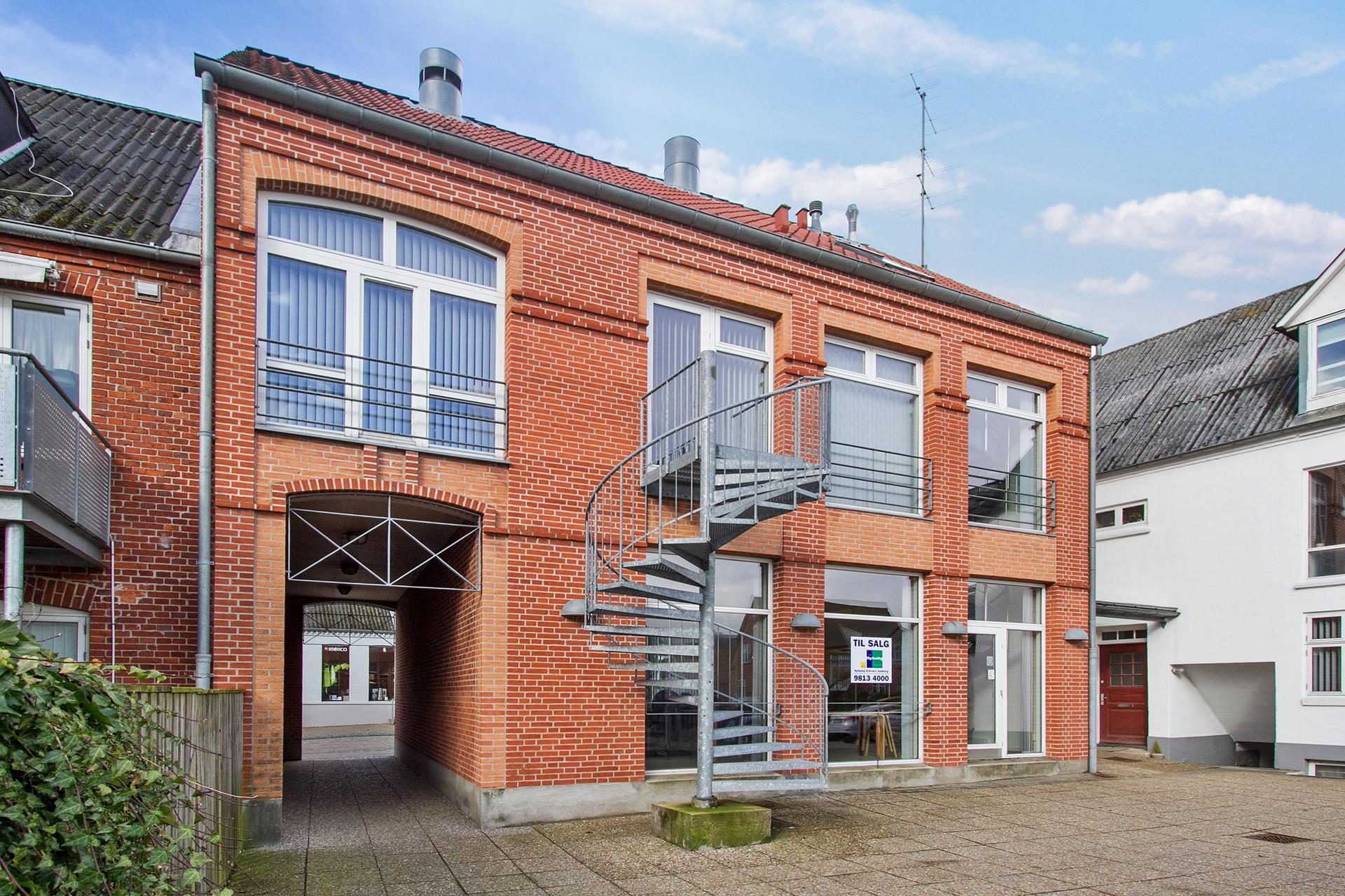 Boligudlejning på Storegade i Hadsund - Ejendommen