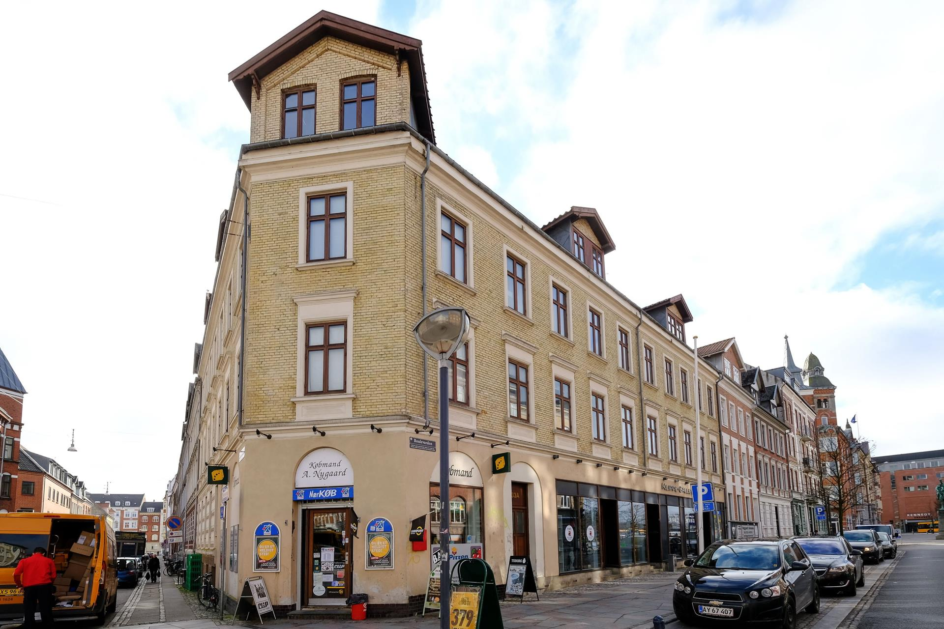 Bolig/erhverv på Boulevarden i Aalborg - Ejendommen