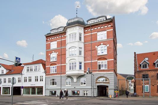 Restauration på Danmarksgade i Aalborg - Facade