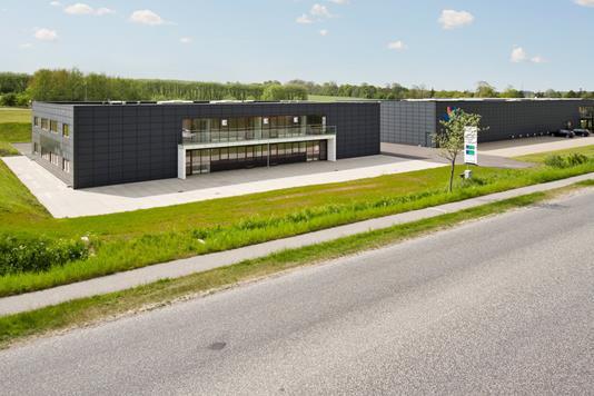 Kontor på Lansen i Svenstrup J - Ejendommen