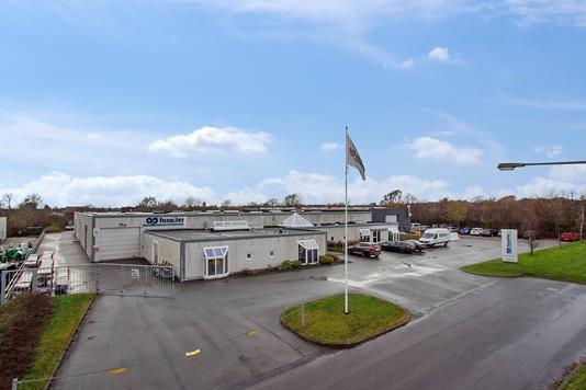 Produktion/lager på Industrivej i Brønderslev - Ejendommen