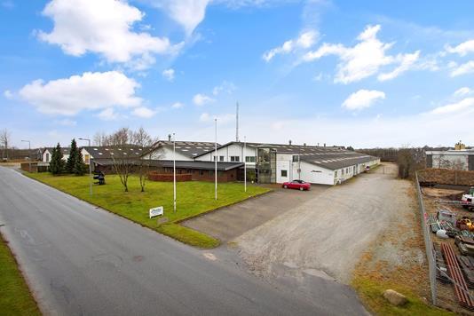 Produktion/lager på Fabriksvej i Farsø - Ejendommen