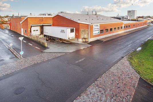 Produktion/lager på Grønnegade i Fjerritslev - Ejendommen