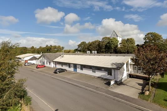 Produktion/lager på Gøttrupvej i Fjerritslev - Ejendommen