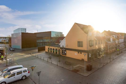 Restauration på Jernbanegade i Hjørring - Ejendommen