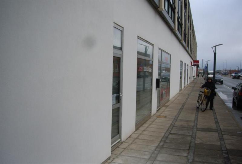Detail på Jørgen Fibigersgade i Hirtshals - Andet