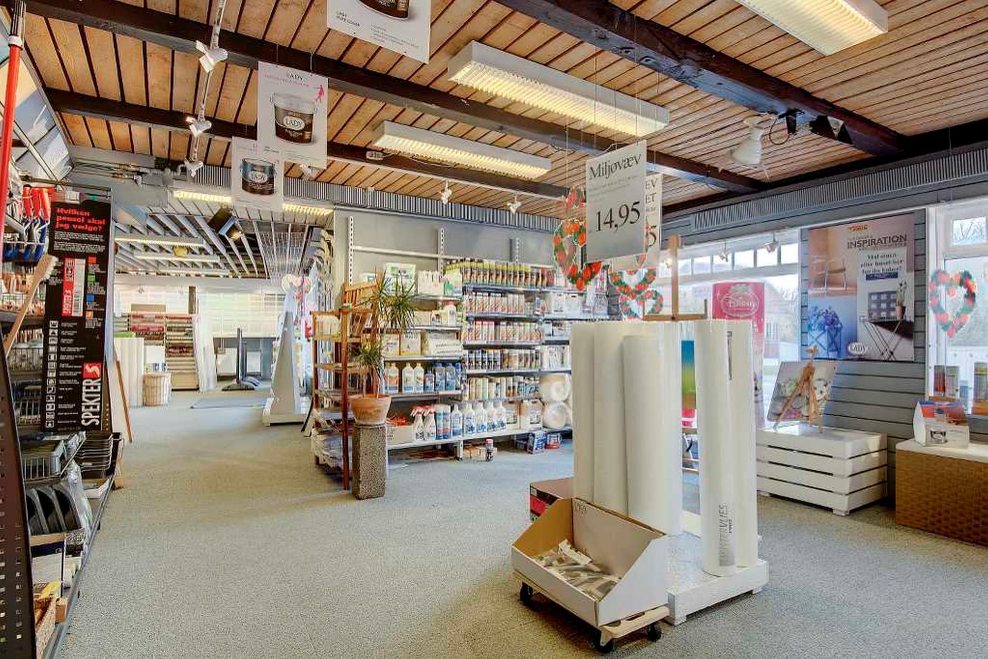 Bolig/erhverv på Sct. Clemens Vej i Skagen - Butikslokale