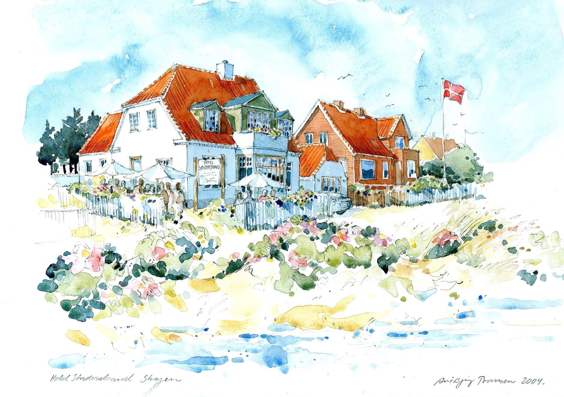 Bolig/erhverv på Østre Strandvej i Skagen - Andet