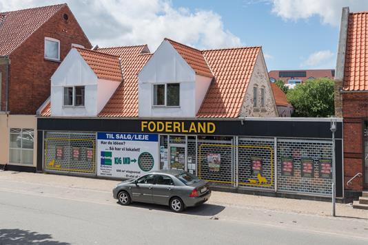 Detail på Søndergade i Frederikshavn - Andet
