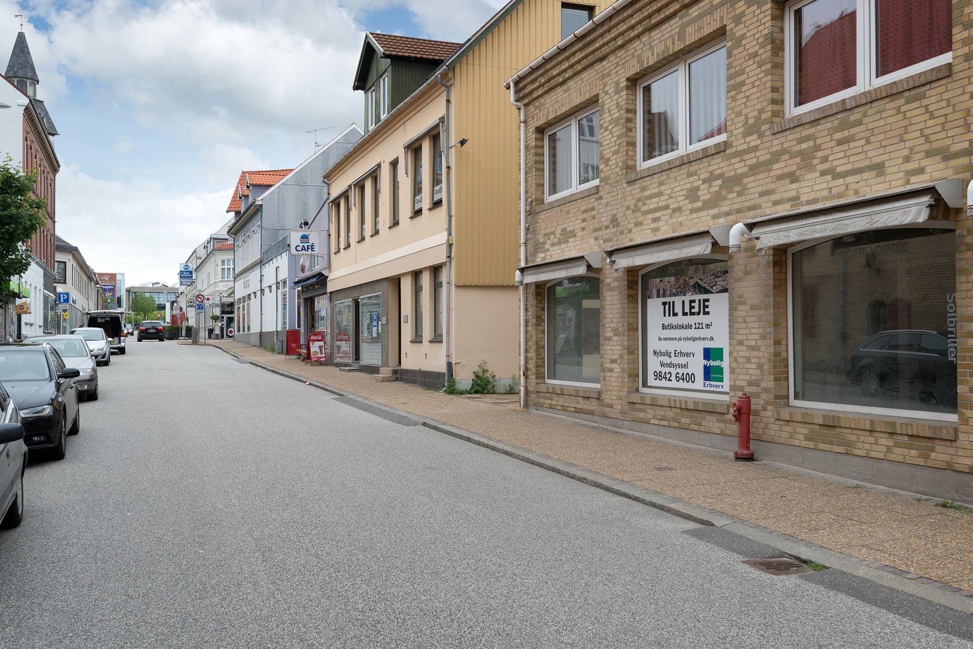 Detail på Tordenskjoldsgade i Frederikshavn - Andet