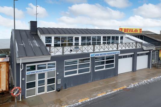 Produktion/lager på Nordvestkajen i Hirtshals - Andet