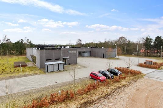 Produktion/lager på Industrivej i Auning - Ejendommen