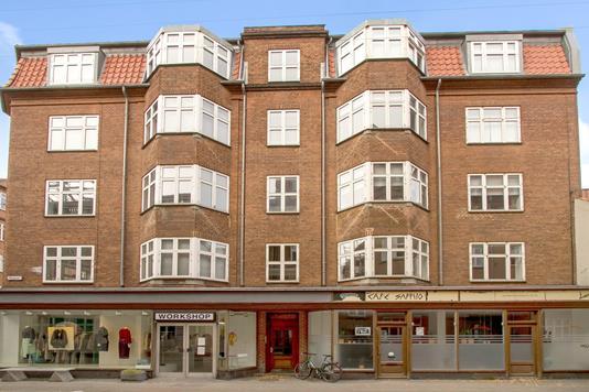 Kontor på Mejlgade i Aarhus C - Ejendommen