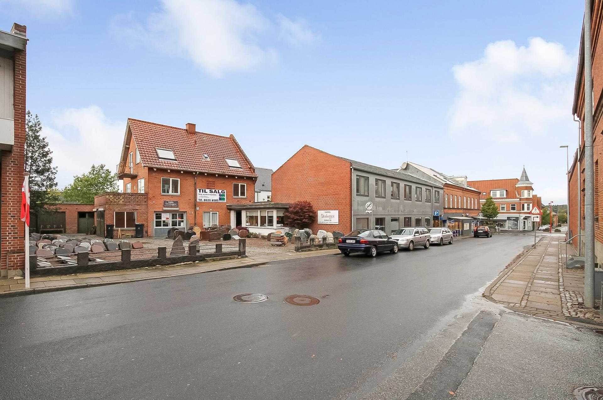 Boligudlejning på Voldbyvej i Hammel - Ejendommen