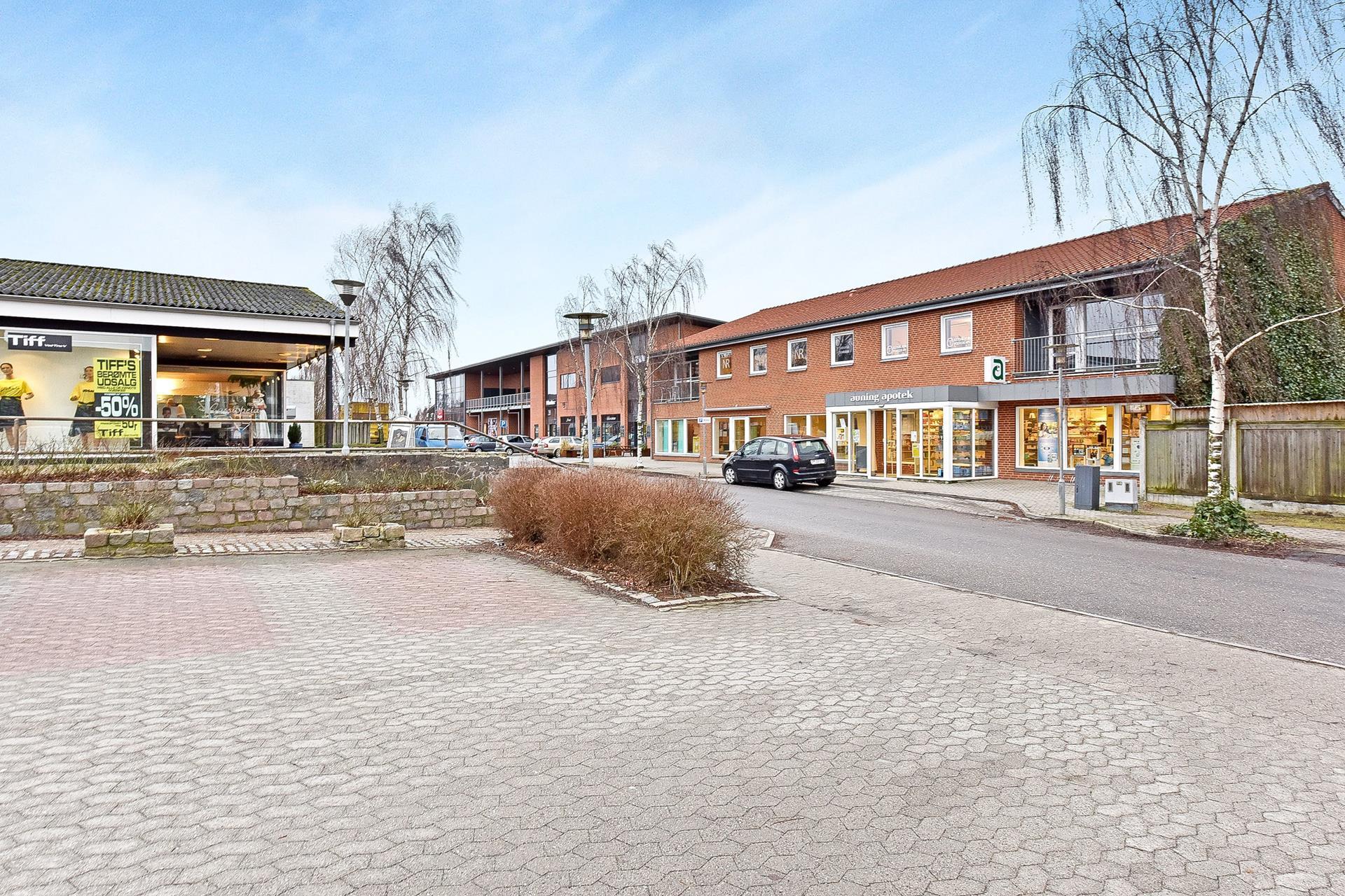 Boligudlejning på Kirkegade i Auning - Område