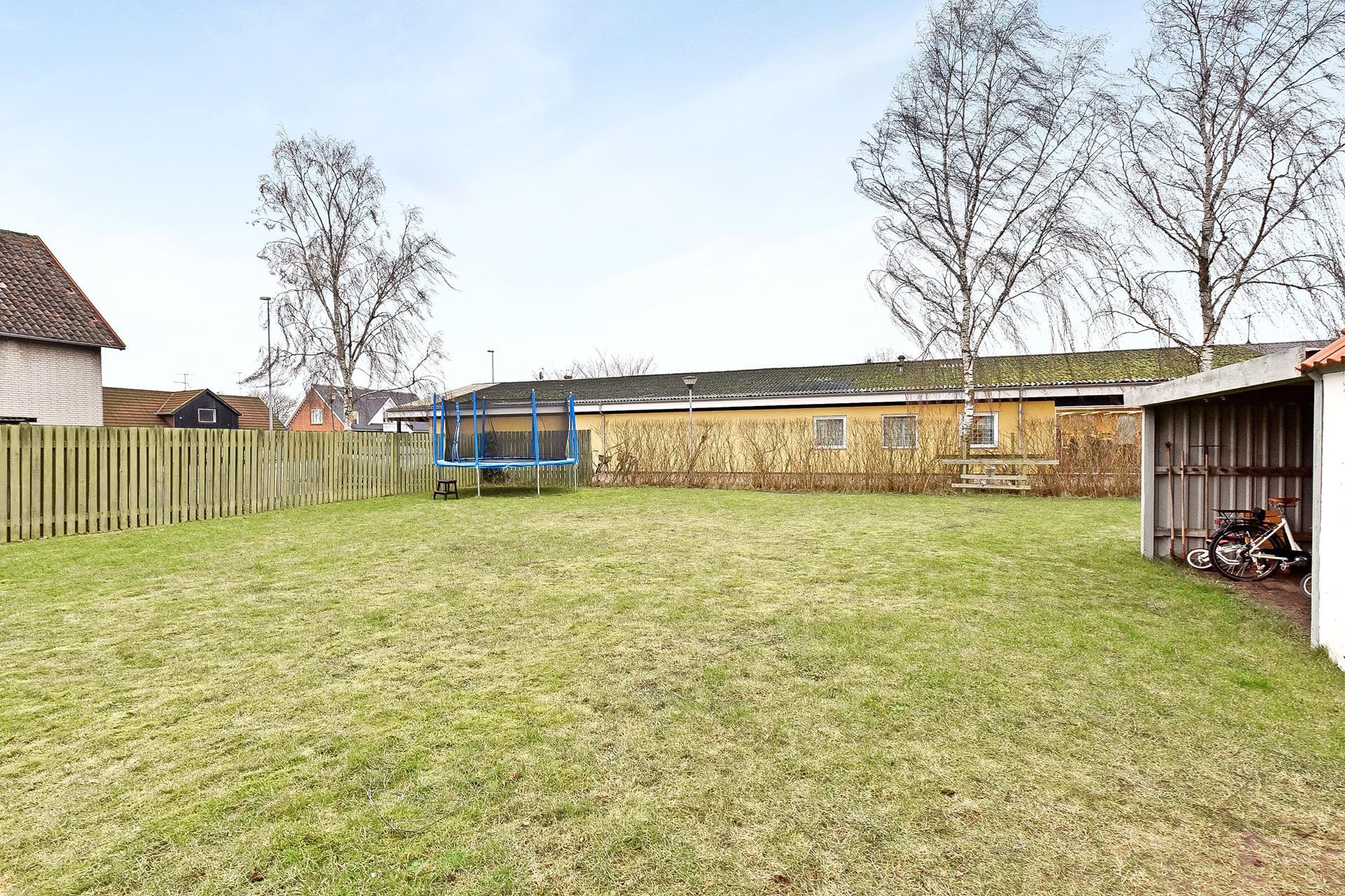 Boligudlejning på Kirkegade i Auning - Have
