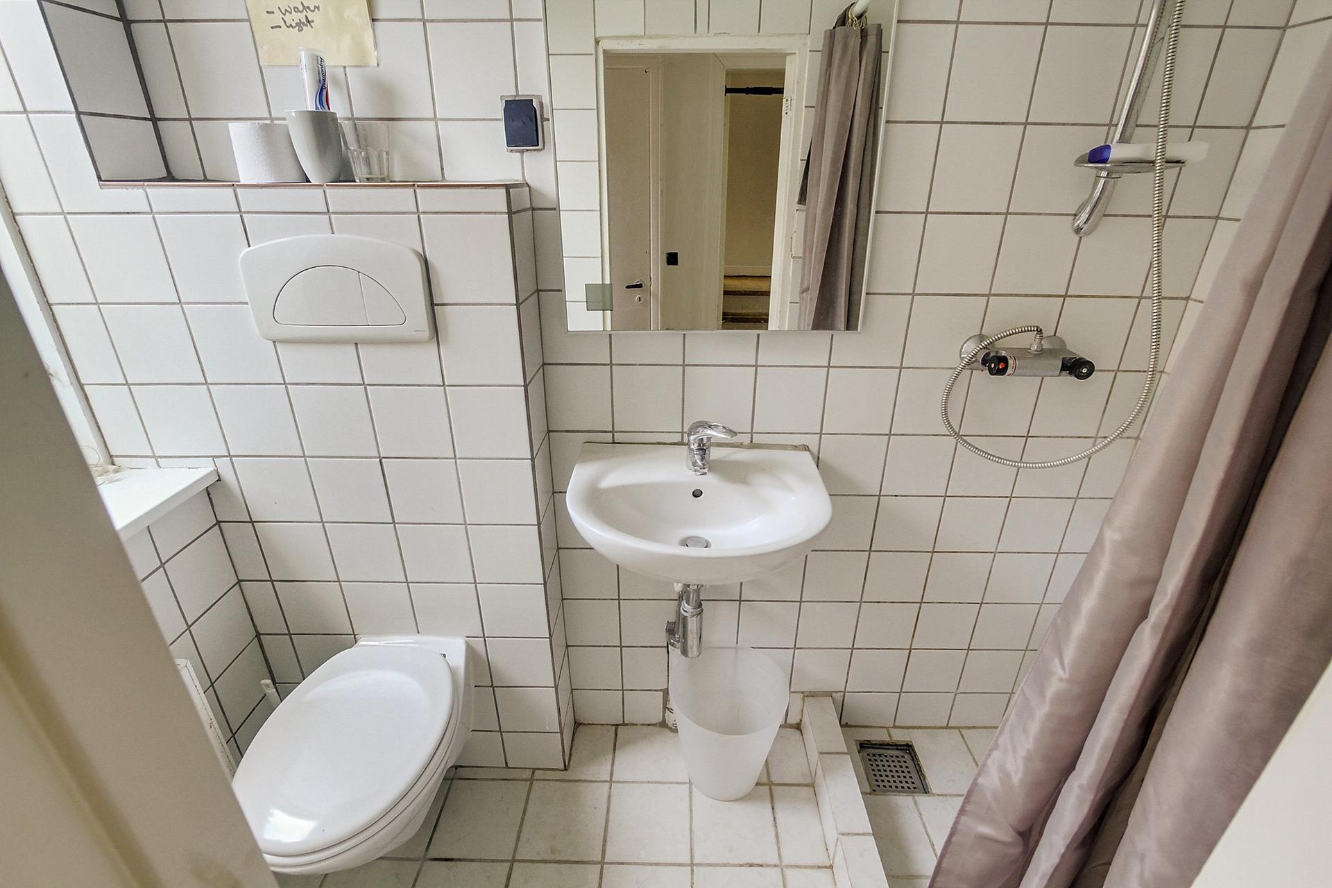Boligudlejning på St.Blichers Vej i Aarhus V - Badeværelse
