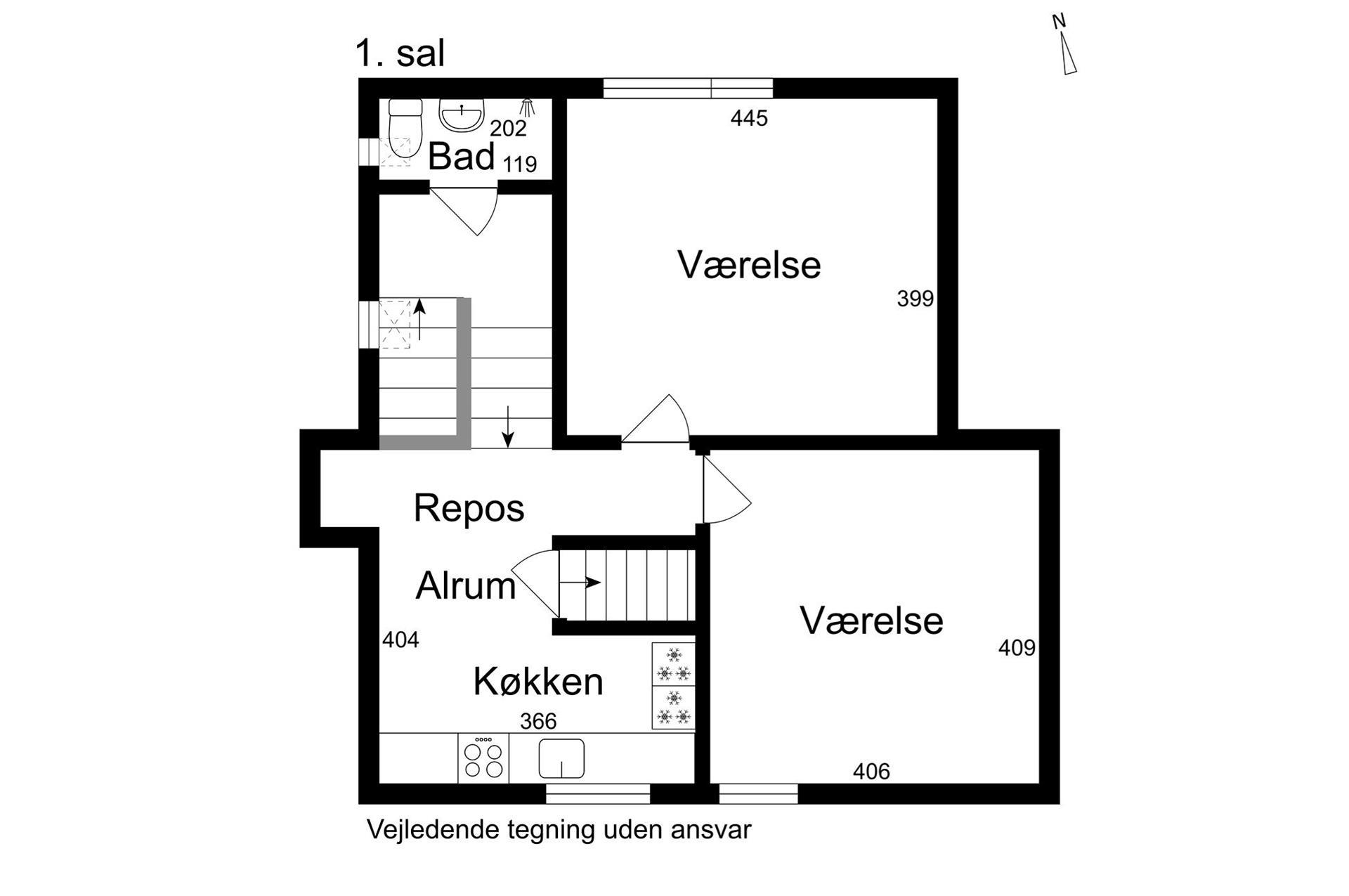 Boligudlejning på St.Blichers Vej i Aarhus V - 1. sal