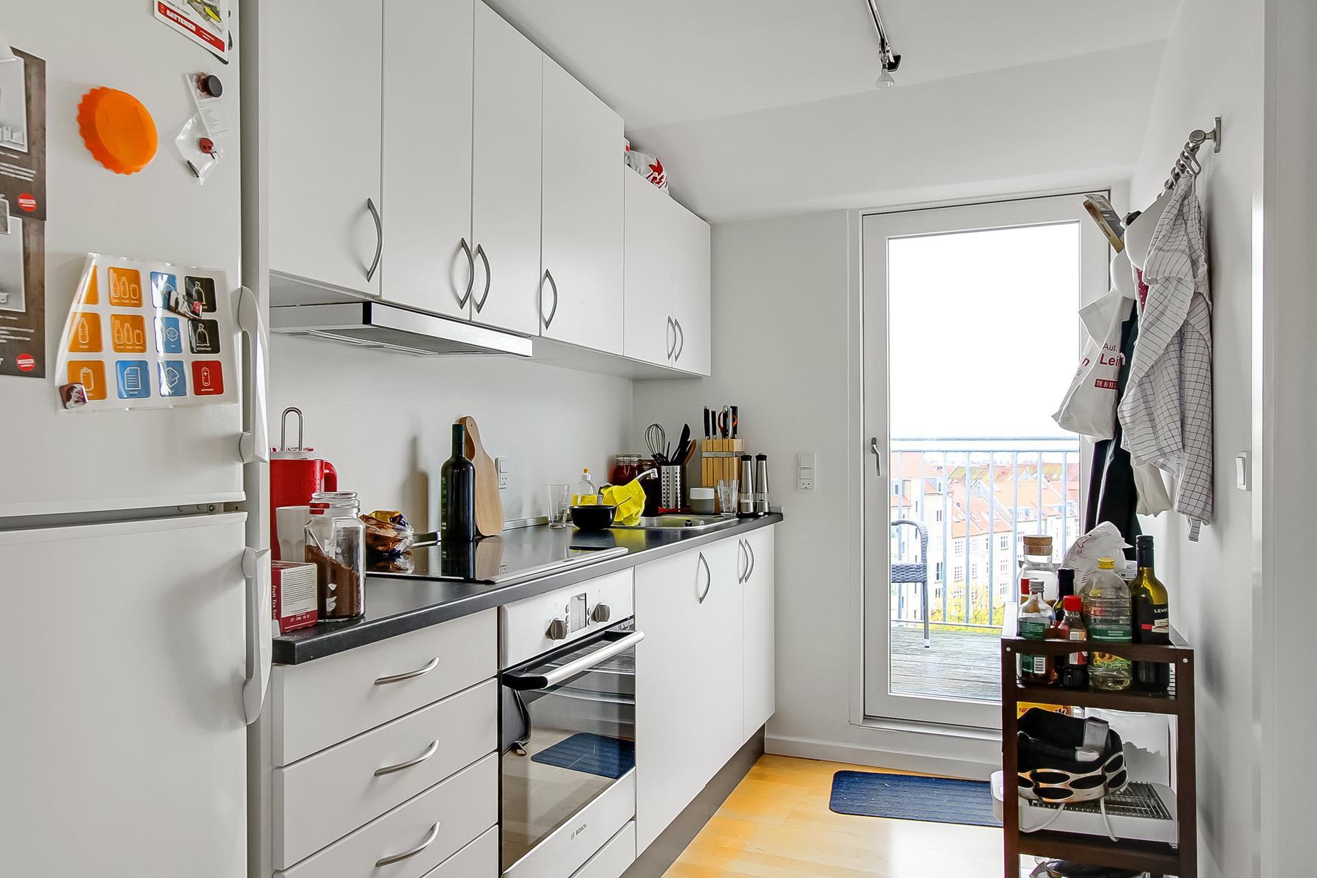 Boligudlejning på Nordre Ringgade i Aarhus N - Køkken