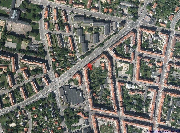 Boligudlejning på Nordre Ringgade i Aarhus N - Oversigtskort