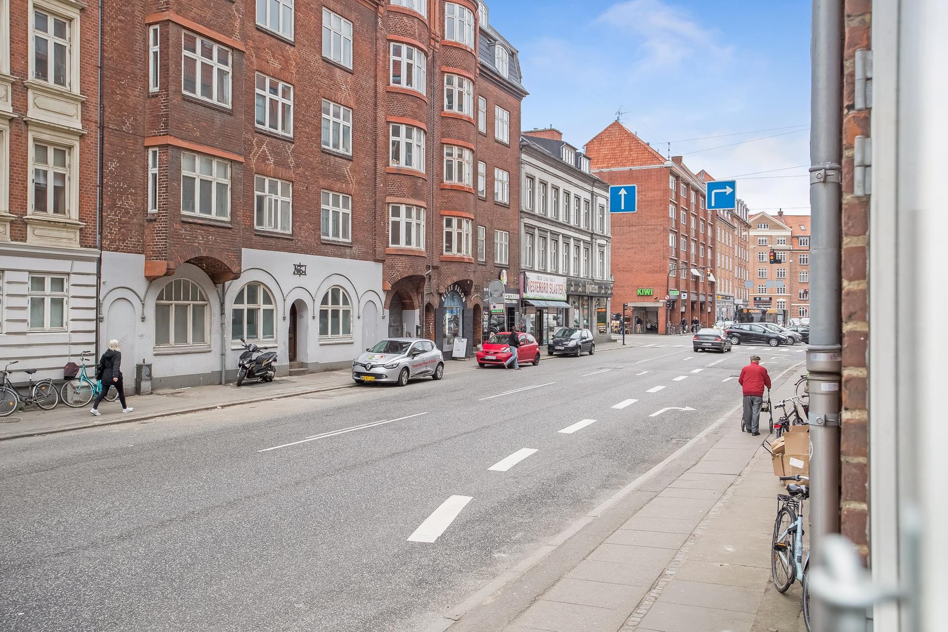 Boligudlejning på Vesterbrogade i Aarhus C - Udsigt