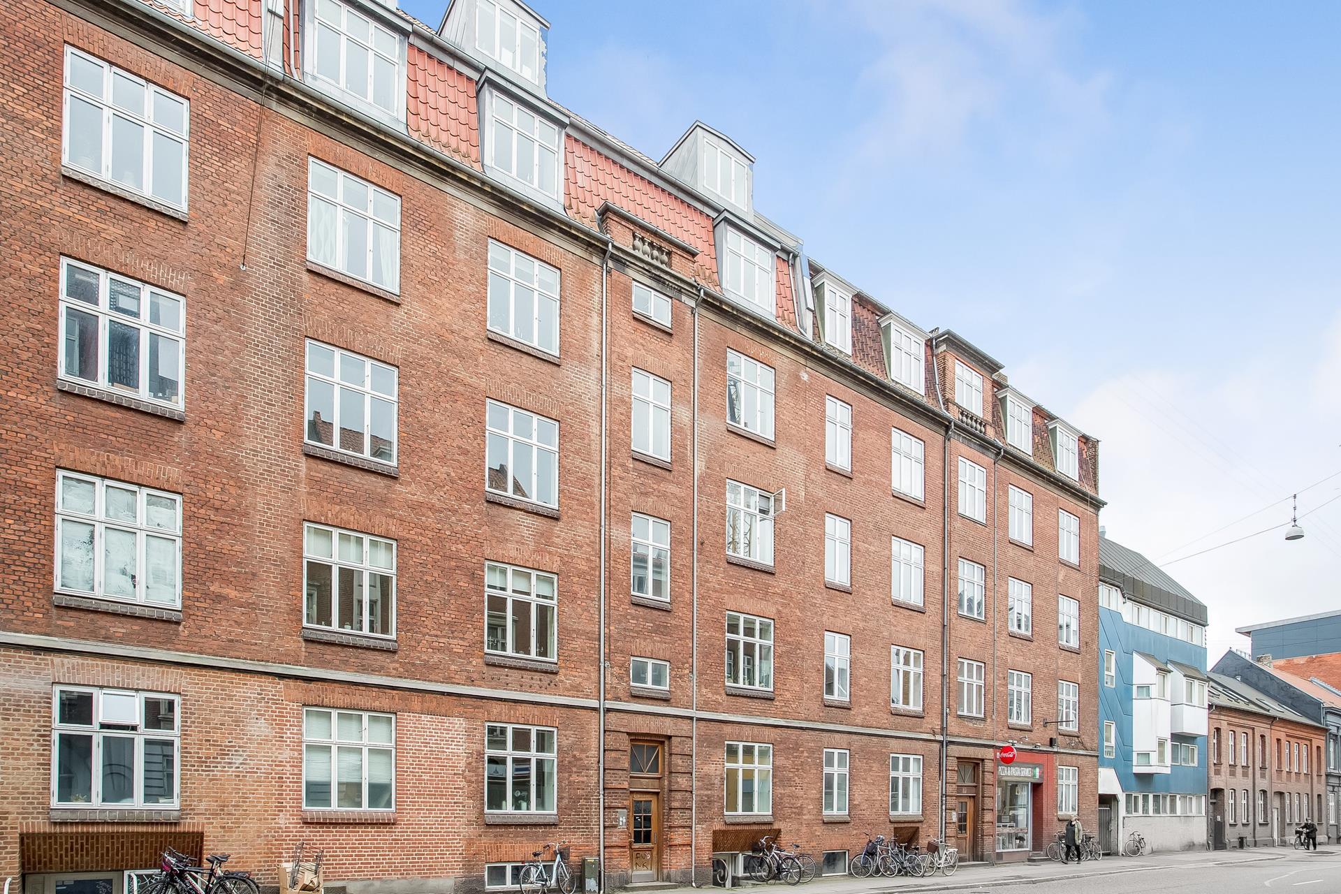 Boligudlejning på Vesterbrogade i Aarhus C - Ejendommen