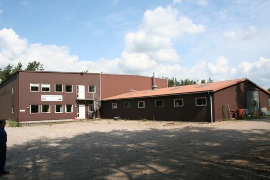 Produktion/lager på Tjerrildvej i Ryomgård - Ejendommen