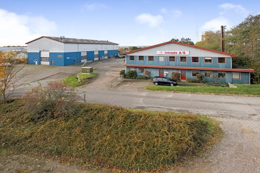 Produktion/lager på Sverigesvej i Skanderborg - Forsidebillede