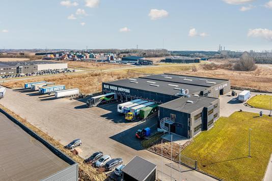 Produktion/lager på Gamma i Hinnerup - Ejendommen