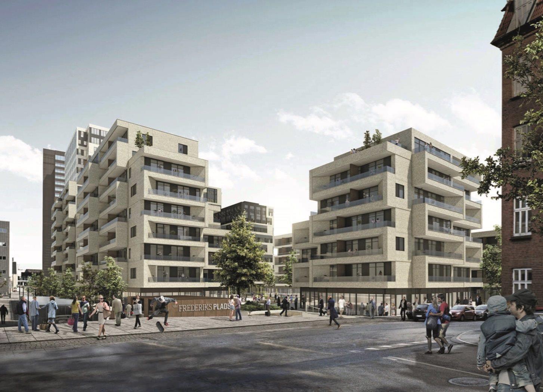 Detail på Frederiks Plads i Aarhus C - Andet