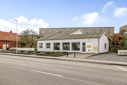 Kontor på Rosenvangs Allé i Højbjerg - Ejendommen