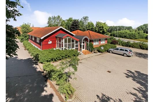 Kontor på Paludan-Müllers Vej i Aarhus N - Ejendommen