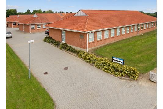 Kontor på Nydamsvej i Hørning - Ejendommen