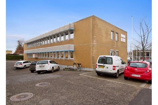 Kontor på Klamsagervej i Åbyhøj - Ejendommen