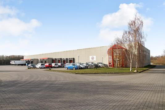 Produktion/lager på Stormosevej i Hasselager - Ejendommen