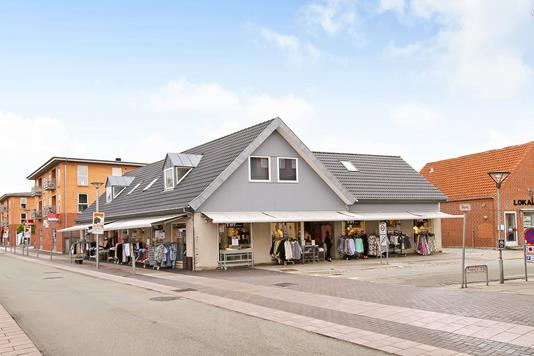 Bolig/erhverv på Tingvej i Hornslet - Ejendommen