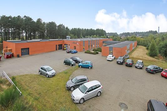 Produktion/lager på Julius Kajus Vej i Ebeltoft - Forsidebillede