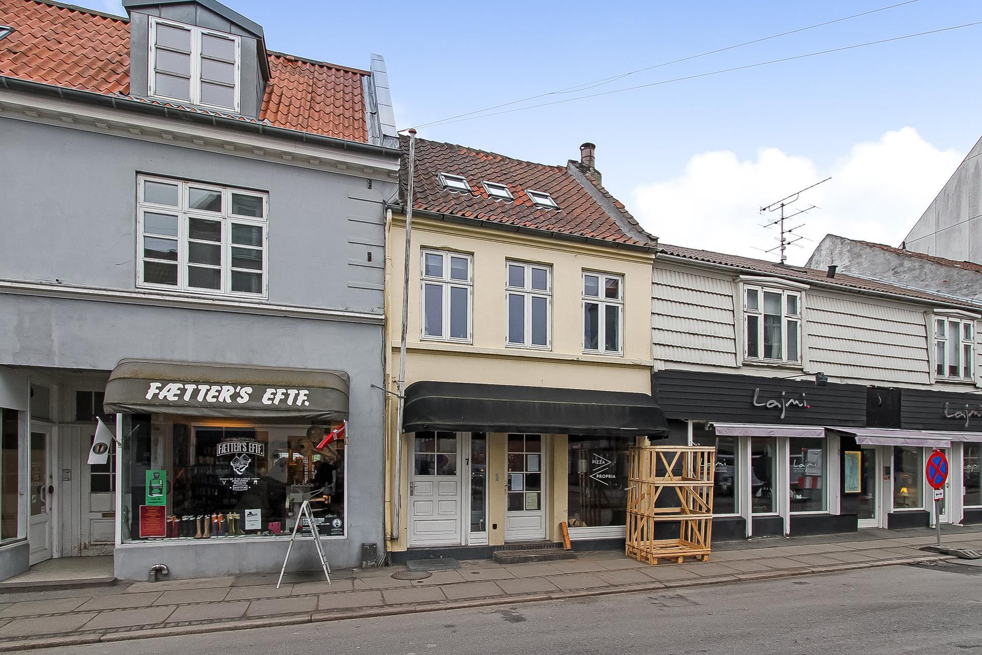 Bolig/erhverv på Jægergårdsgade i Aarhus C - Ejendommen