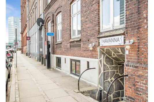 Bolig/erhverv på Fredensgade i Aarhus C - Ejendommen