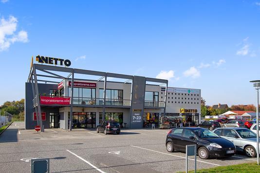 Detail på Århusvej i Randers SV - Facade