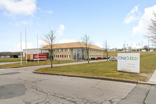 Produktion/lager på P.O. Pedersens Vej i Aarhus N - Ejendommen