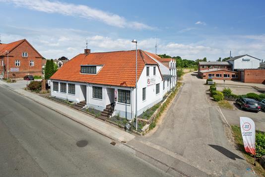 Kontor på Tingvej i Hornslet - Facade