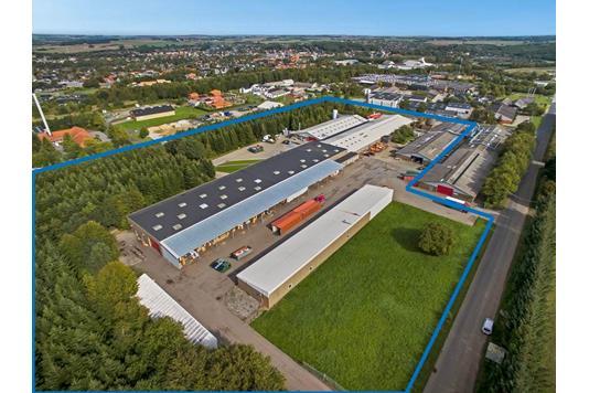 Produktion/lager på Toftegårdsvej i Hadsten - Andet