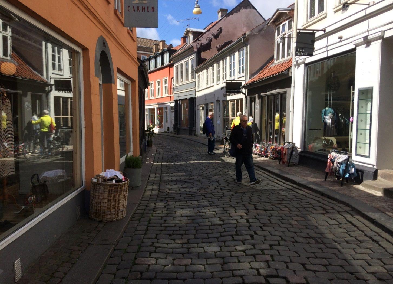 Detail på Volden i Aarhus C - Område