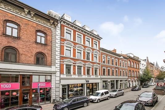 Bolig/erhverv på Guldsmedgade i Aarhus C - Ejendommen