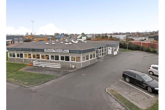 Kontor på Viengevej i Risskov - Ejendommen