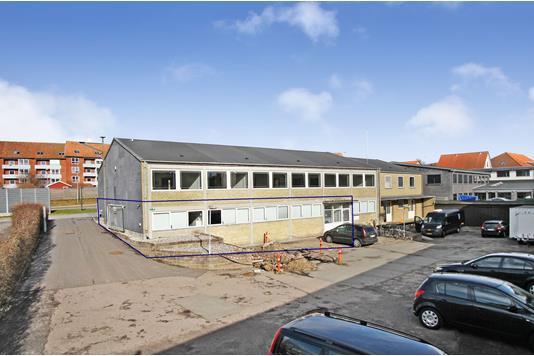 Kontor på Marselis Boulevard i Aarhus C - Ejendommen