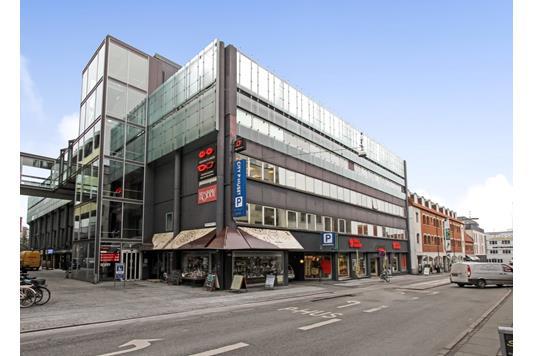 Kontor på Østergade i Aarhus C - Ejendommen
