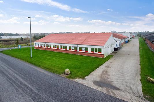 Kontor på Mirabellevej i Randers NØ - Ejendommen