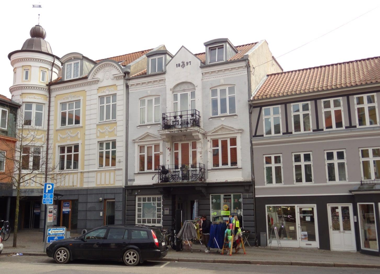 Boligudlejning på Slotsgade i Randers C - Facade